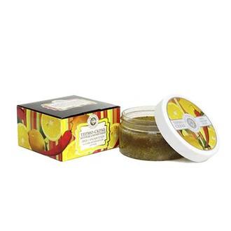 Дом Природы, Скраб «Лимон с красным перцем», соляной, 300 г