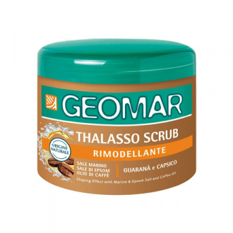 Geomar, Талассо-скраб с кофе для тела, 600 г