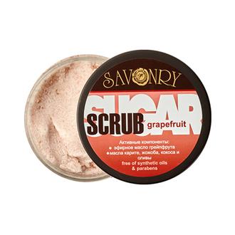 Savonry, Сахарный скраб для тела Grapefruit, 300 г