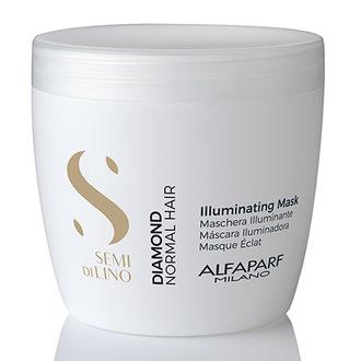 Alfaparf Milano, Маска для волос Semi di Lino Illuminating, 500 мл