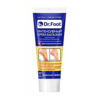 Dr.Foot, Интенсивный крем-бальзам для пяточек, 75 мл