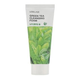 Lebelage, Пенка для умывания Green Tea, 100 мл