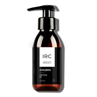 IRC 24|7, Очищающий гель с AHA/BHA-кислотами для лица, 125 мл