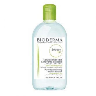Bioderma, Мицеллярная вода Sebium H20, 500 мл