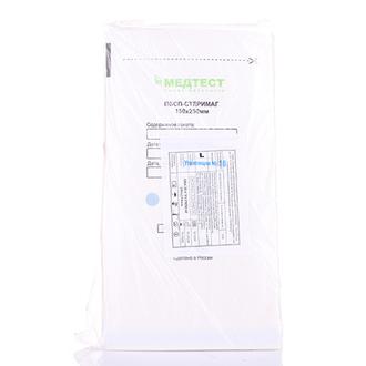 Медтест, Пакеты для стерилизации, белые, 150х250 мм, 100 шт.