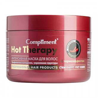 Compliment, Маска для волос Hot Therapy, 500 мл