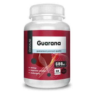 Chikalab, Комплексная пищевая добавка «Гуарана», 60 капсул