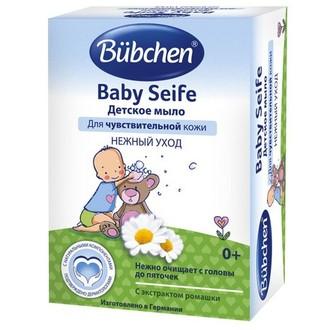 Bubchen, Детское мыло «Нежный уход», 125 г