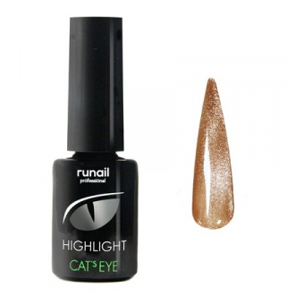 Гель-лак ruNail Cat's eye Highlight №6032