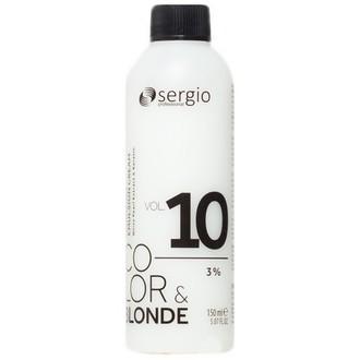 Sergio Professional, Крем-окислитель Color & Blonde 10 Vol/3%, 150 мл