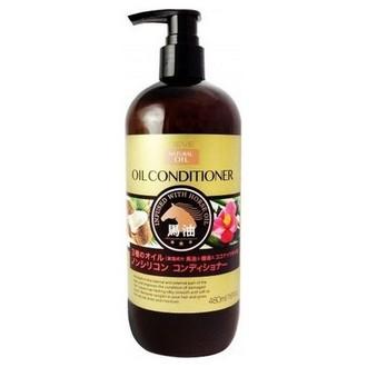 KUMANO COSMETICS, Кондиционер для волос Deve Horse Oil, 480 мл