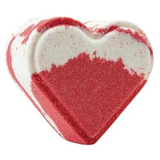 TURANICA, Бомбочка для ванны «Сердце», ягодный щербет, 120 г