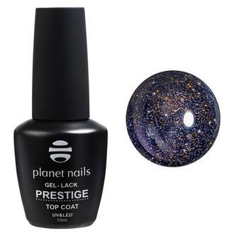 Planet Nails, Топ Prestige Gold Reflection, 10 мл