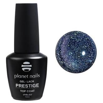 Planet Nails, Топ Prestige Green Reflection, 10 мл