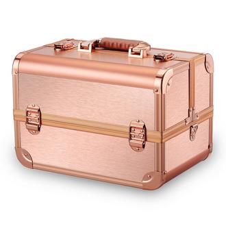 OKIRO, Бьюти-кейс для косметики CWB7350, розовое золото