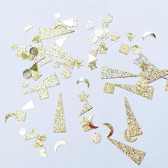 FanatkaStraz, Металлический декор «Геометрия», золото