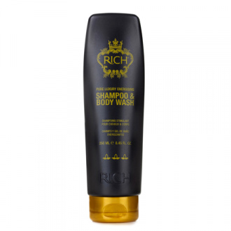 RICH, Тонизирующий шампунь для волос и тела, 250 мл