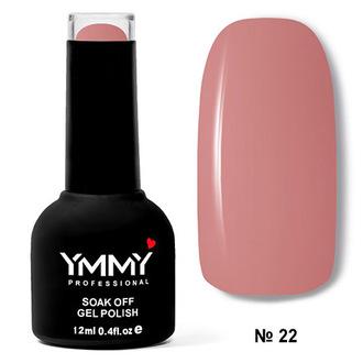 Гель-лак YMMY Professional «Нюд и камуфляж» №022