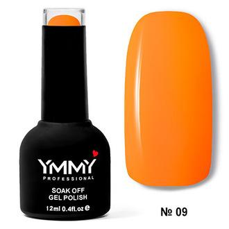 Гель-лак YMMY Professional «Оранжевый бум» №009