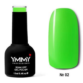 Гель-лак YMMY Professional «Люминесцентный» №02