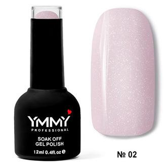 Гель-лак YMMY Professional «Летняя ночь» №02