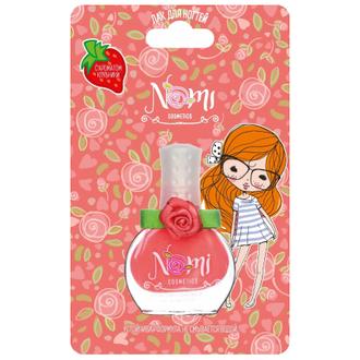 Nomi, Детский лак для ногтей №5, розовая карамель, 7 мл