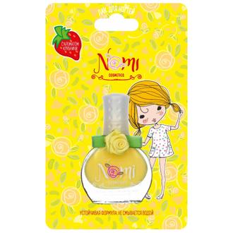 Nomi, Детский лак для ногтей №18, сладкий лимон, 7 мл