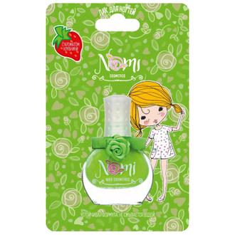 Nomi, Детский лак для ногтей №21, зеленое яблоко, 7 мл