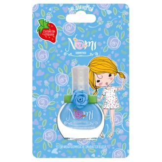 Nomi, Детский лак для ногтей №24, голубая дымка, 7 мл