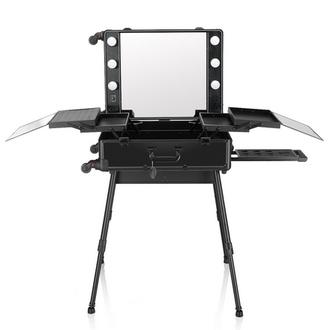 OKIRO, Мобильная студия визажиста LC 004, черная