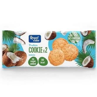 ProteinRex, Протеиновое печенье «Кокосовое», 50 г