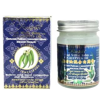 Rasyan, Белый бальзам O-Sod Еucalyptus Oil, 50 г