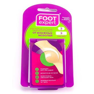 Foot Expert, Набор пластырей от влажных мозолей