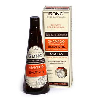 DNC, Шампунь для сухих и поврежденных волос, 350 мл (УЦЕНКА)