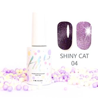 Гель-лак HIT Gel Shiny Cat №04