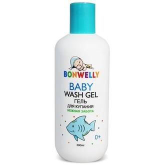 Bonwelly, Гель для купания «Нежная забота», 300 мл