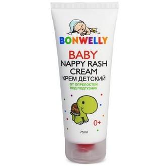Bonwelly, Детский крем от опрелостей, 75 мл