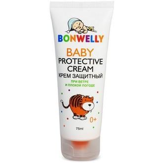 Bonwelly, Защитный крем при ветре и плохой погоде, 75 мл