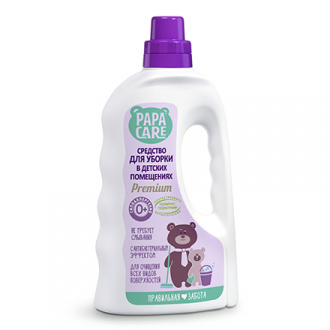 Papa Care, Средство для уборки в детских помещениях, 1 л