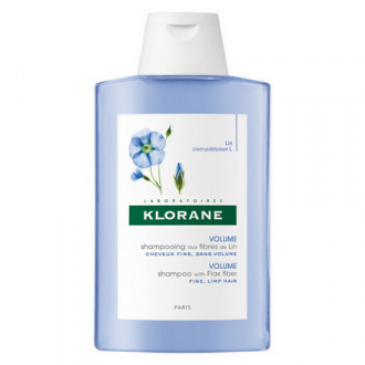 Klorane, Шампунь для волос, с экстрактом льняного волокна, 400 мл