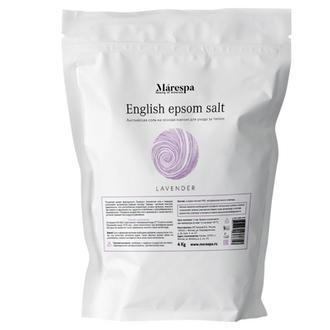 Marespa, Соль для ванн English Epsom «Лаванда», 4 кг
