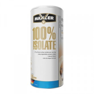 Maxler, Изолят протеина 100%, ледяной кофе, 450 г