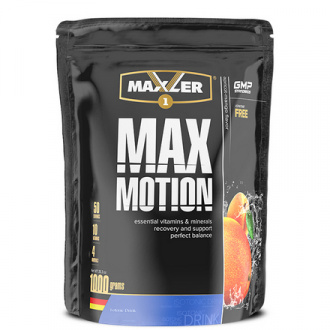 Maxler, Изотоник Max Motion, абрикос-манго, 1000 г