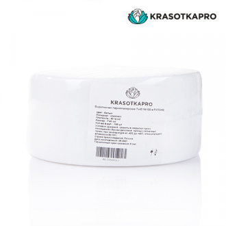 KrasotkaPro, Воротнички из спанлейса, в рулоне, 7х40 см, 100 шт.