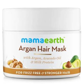 MamaEarth, Маска для непослушных волос Argan, 200 мл