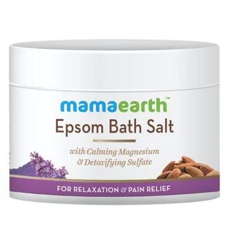MamaEarth, Английская соль для ванн, 200 г
