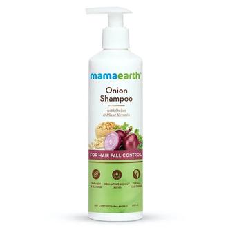 MamaEarth, Шампунь для ускорения роста волос Onion Oil, 250 мл