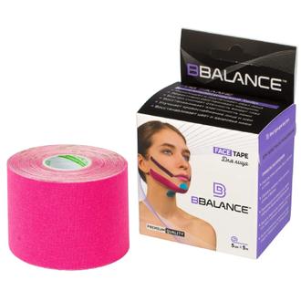 BBalance, Кинезио-тейп Face Pack, 5 см, розовый