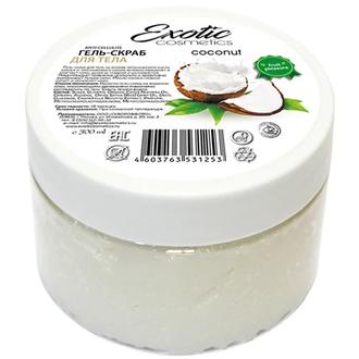 Exotic Cosmetics, Гель-скраб для тела «Кокос», 300 мл