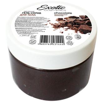 Exotic Cosmetics, Гель-скраб для тела «Шоколад», 300 мл
